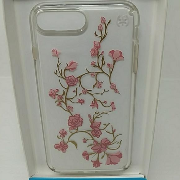 3e8b93e2d4c8 Speck Presidio Clear + Print iPhone 7 Plus Case. M 5afe00edcaab44ba2e1c429f